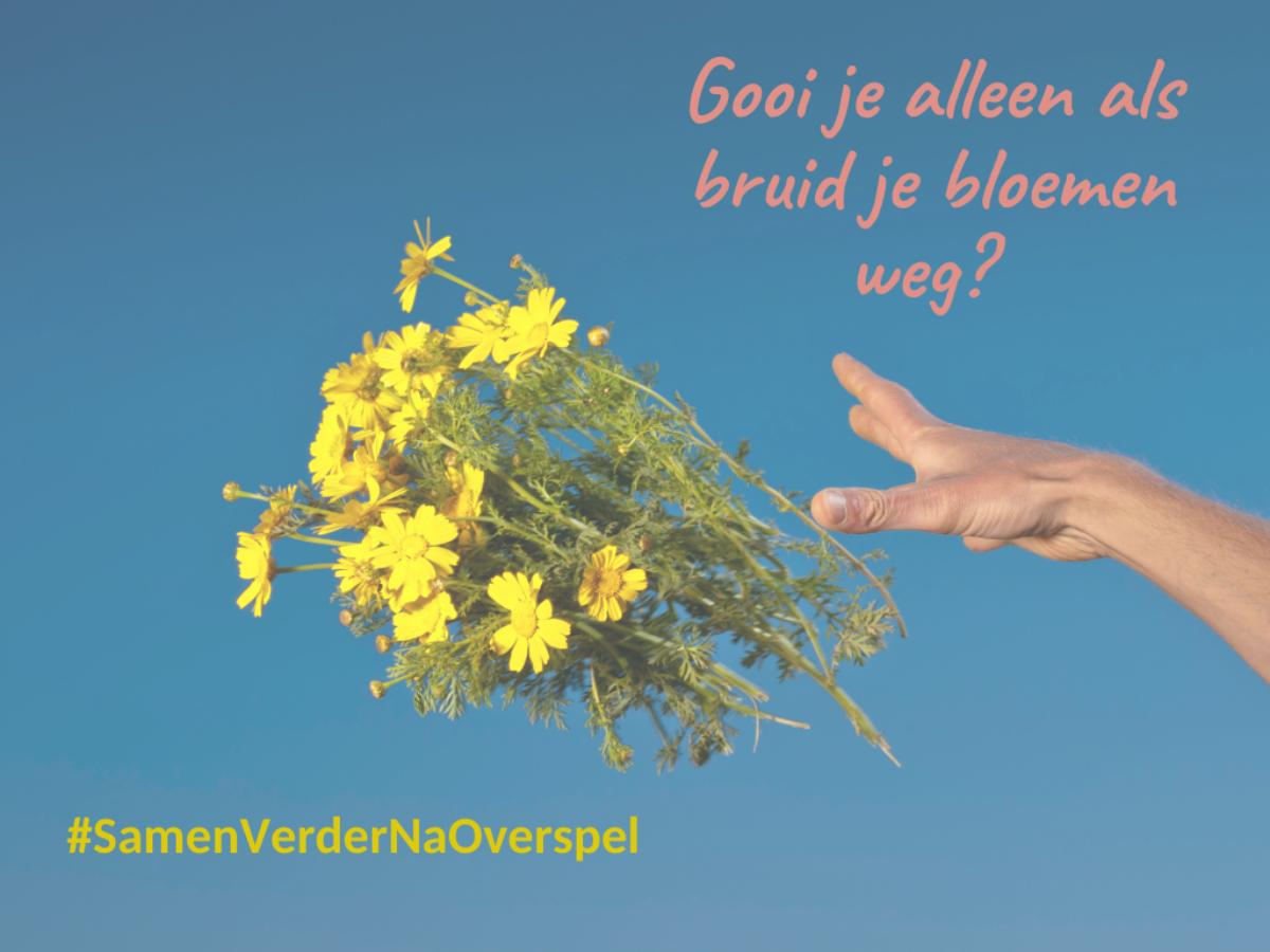 Bloemen weggooien
